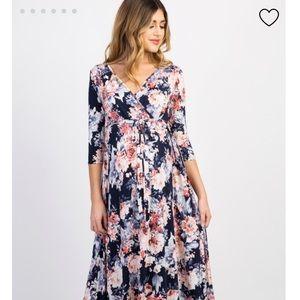 Pinkblush Medium Floral Maternity Dress